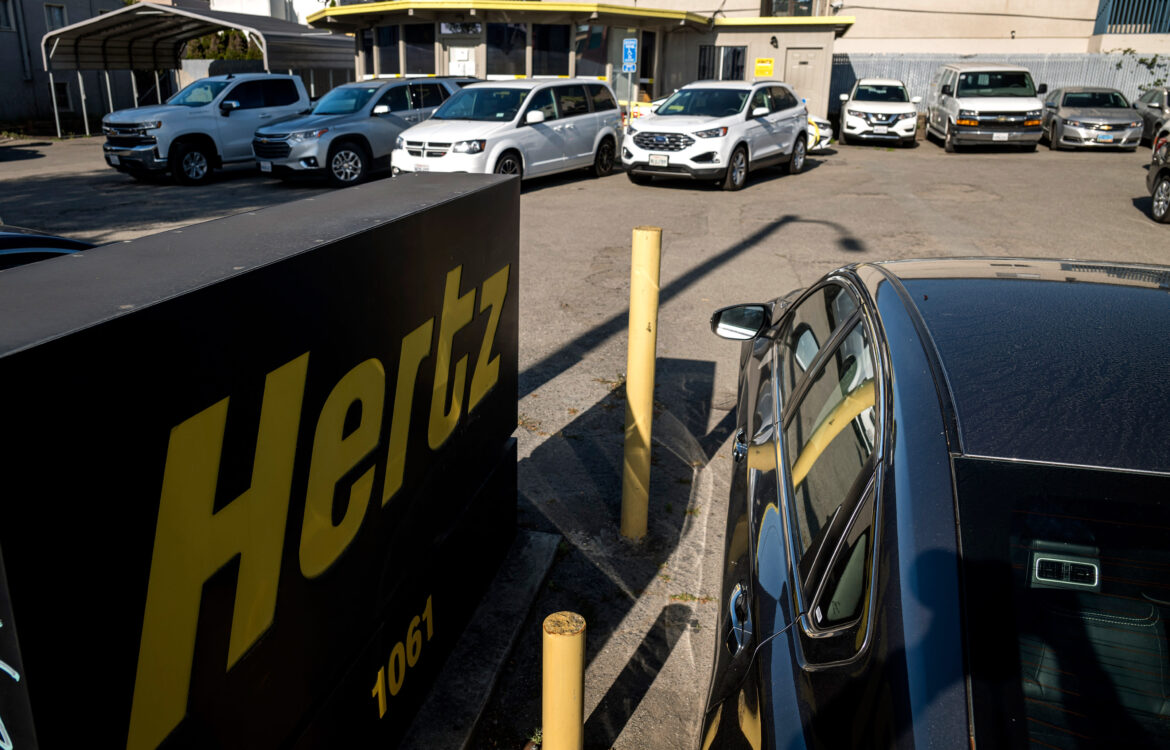 The TravelCenter - Booking 24 hours a day - Hertz bankruptcy, distressed rental car market...