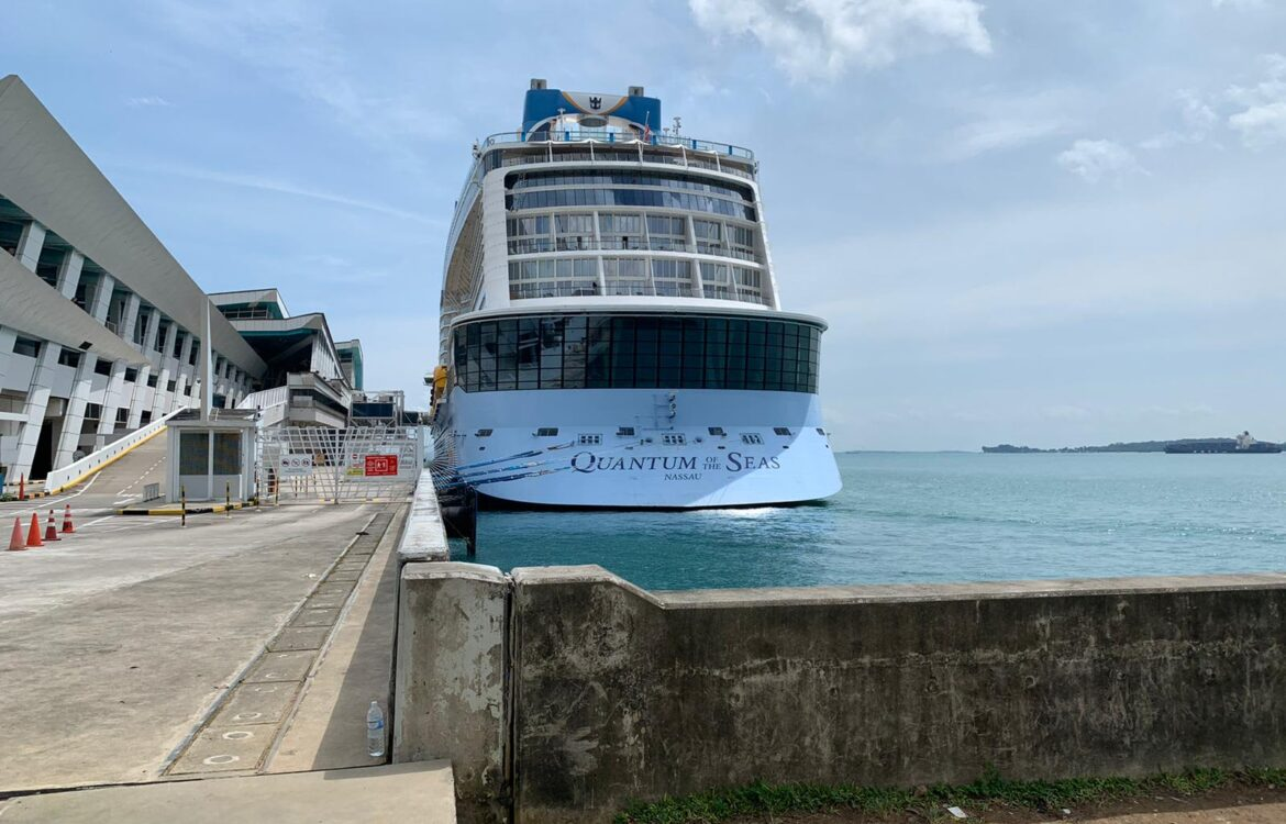 The TravelCenter - Booking 24 hours a day - Covid-19 tests for passenger on a Royal Caribbean...